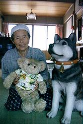 動物好きのおばあちゃん