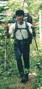 建設課の登山家
