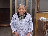 旅行好きなおばあちゃん