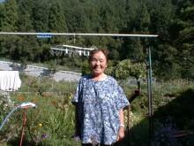 元気おばあちゃん、久田子を満喫!